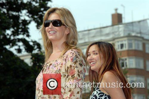 Penny Lancaster and Myleene Klass BUPA Capital 10K...