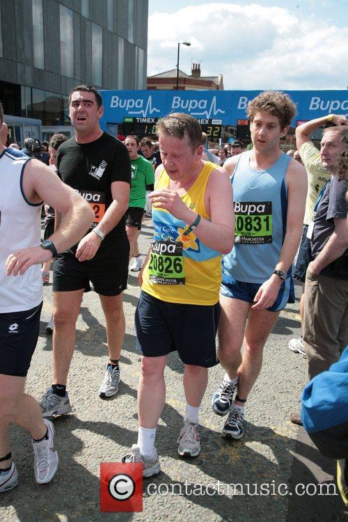 Bill Turnbull BUPA 10K run Manchester, England