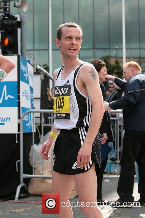 Dan Robinson BUPA 10K run Manchester, England