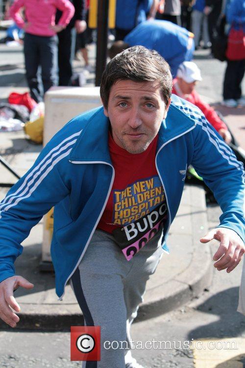 Jason Dunn BUPA 10K run Manchester, England