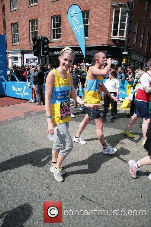 Sarah Jayne Dunn BUPA 10K run Manchester, England