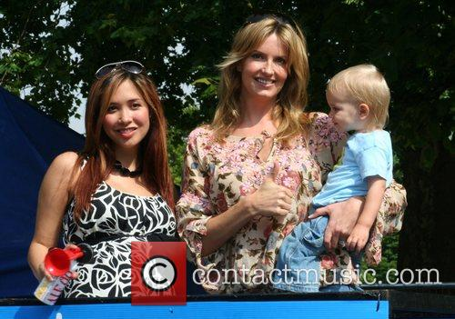 Myleene Klass and Penny Lancaster start the Bupa...