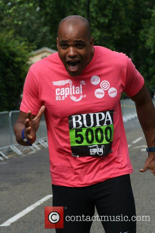 Du'aine Ladejo The Bupa and Ccapital Radio 10K...