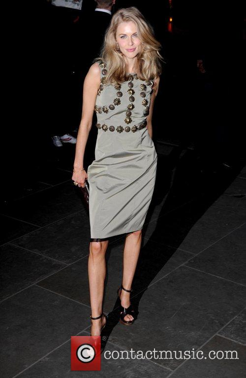 Donna Air Burberry and Vanity Fair Portraits opening...