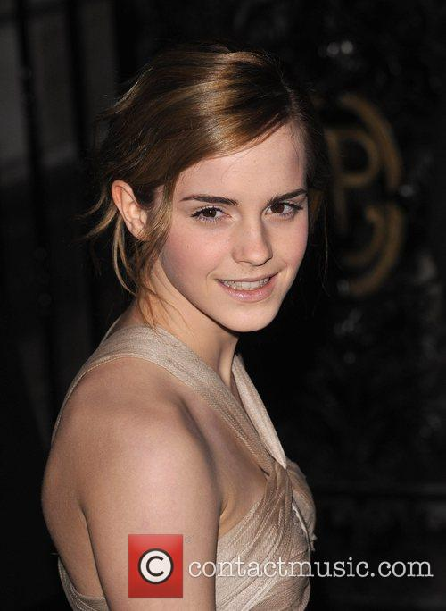 Emma Watson Burberry and Vanity Fair Portraits opening...