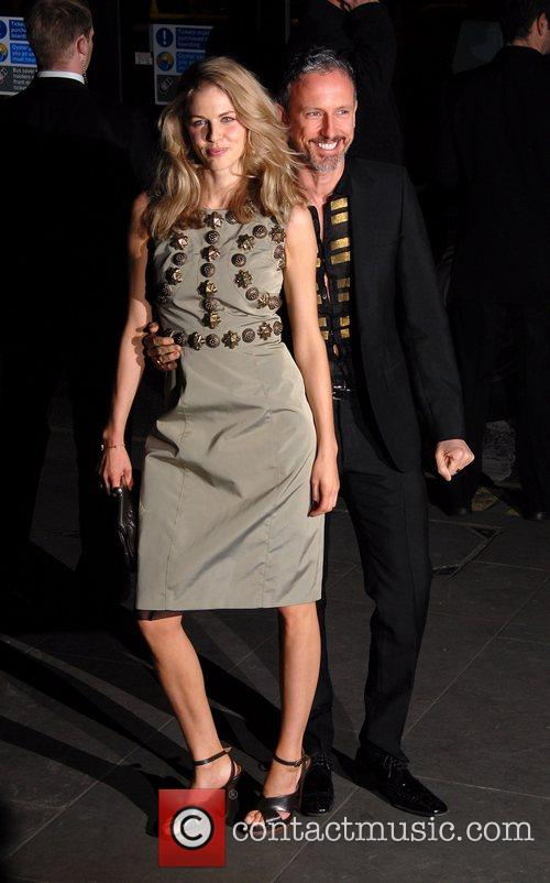 Donna Air and guest Burberry and Vanity Fair...