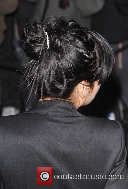Lily Allen Vanity Fair Portrats opening night held...