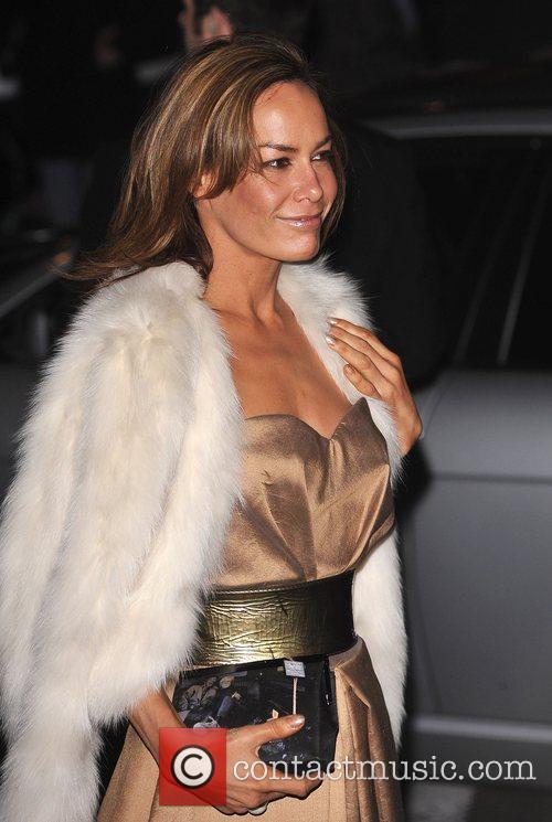 Tara Palmer Tompkinson Vanity Fair Portrats opening night...