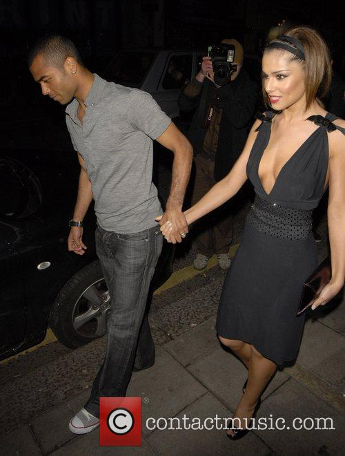 Ashley Cole and Cheryl Tweedy 3