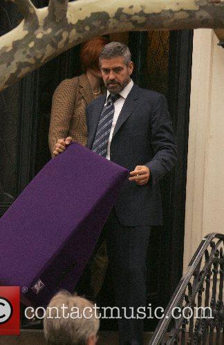 Tilda Swinton and George Clooney 2