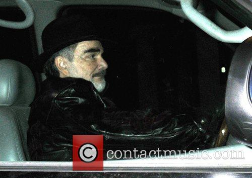 Burt Reynolds returns to his hotel after filming...