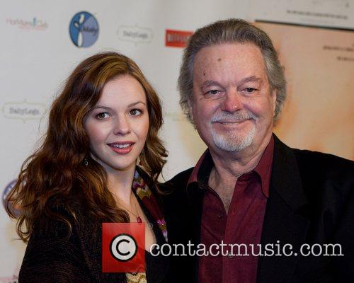 Amber Tamblyn and actor Russ Tamblyn Premiere of...