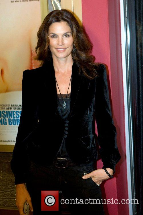 Cindy Crawford,  Premiere of 'The Business of...