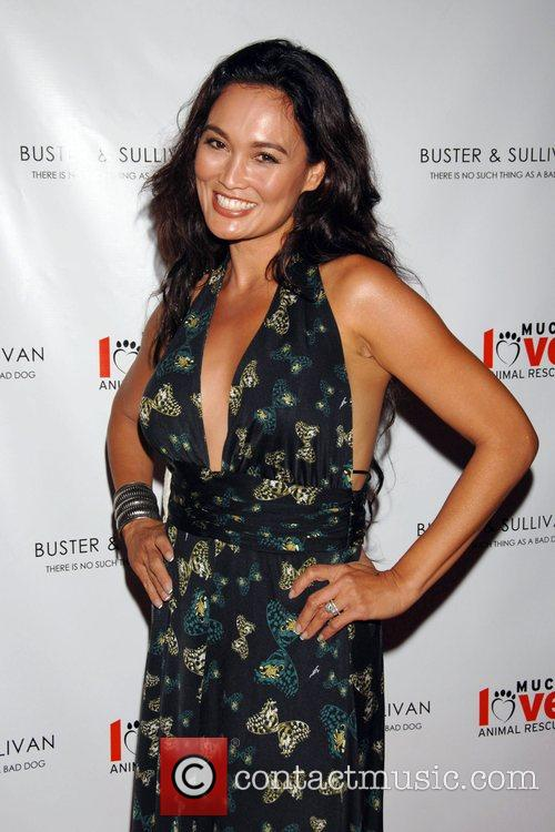 Tia Carrera Party to celebrate the opening of...