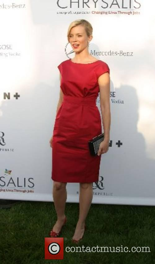 Amy Smart 2007 Chrysalis Butterfly Ball held at...