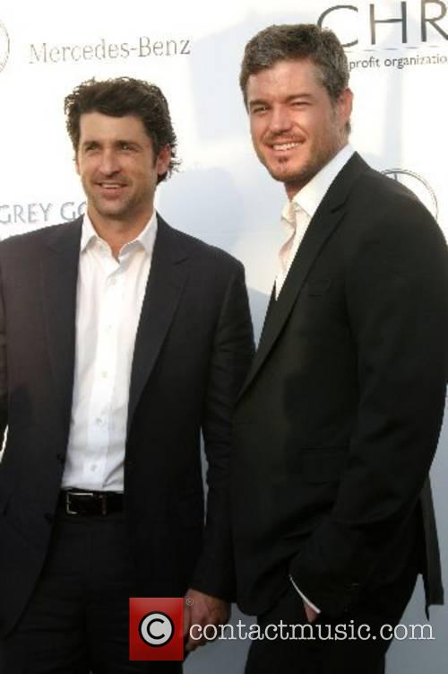Patrick Dempsey and Eric Dane 2007 Chrysalis Butterfly...