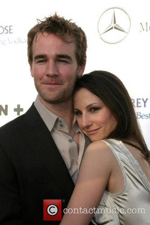 James VanDerBeek and Wife 2007 Chrysalis Butterfly Ball...