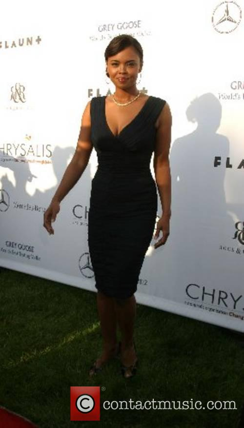 Sharon Leal  2007 Chrysalis Butterfly Ball held...