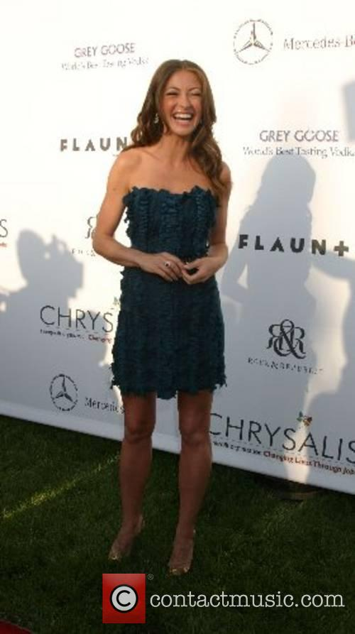 Rebecca Gayheart-Dane 2007 Chrysalis Butterfly Ball held at...