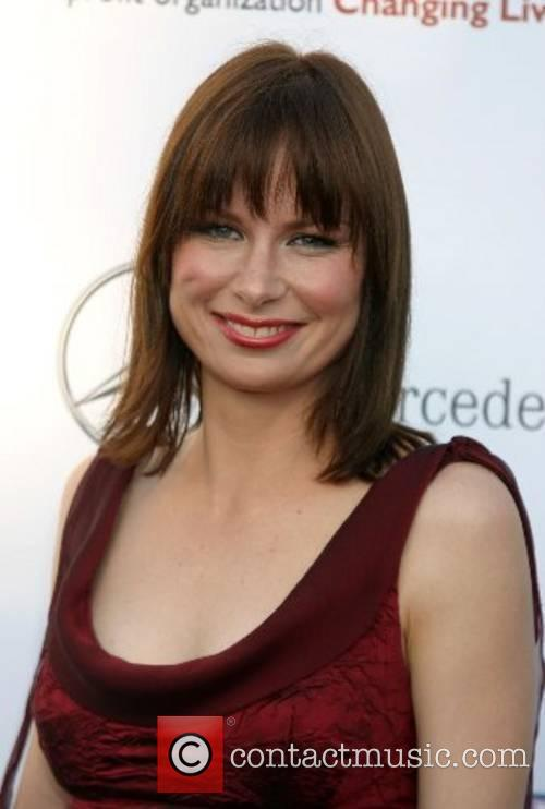 Mary Lynn Rajskub 2007 Chrysalis Butterfly Ball held...