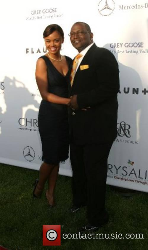 Sharon Leal and Randy Jackson 2007 Chrysalis Butterfly...