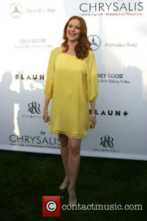Marcia Cross 2007 Chrysalis Butterfly Ball held at...