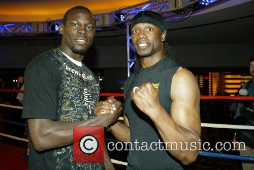Light Heavyweights Chris Byrd and and Shaun George...
