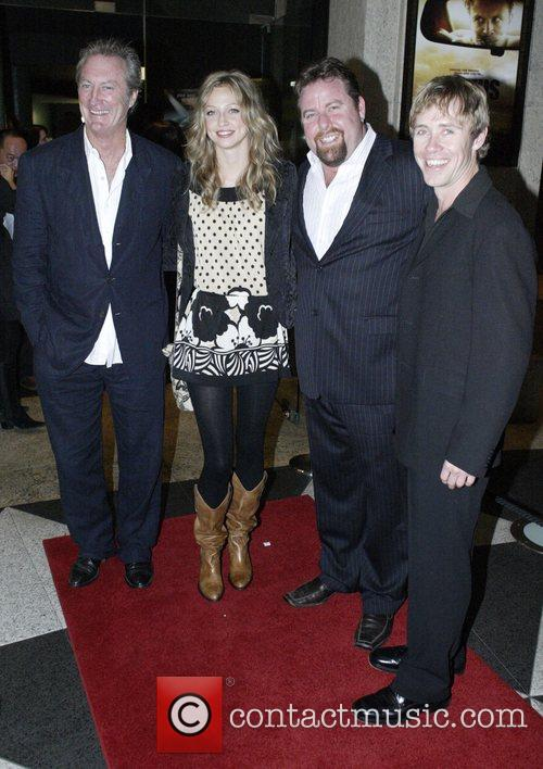 From left: Bryan Brown, Zoe Tuckwell Smith, Shane...