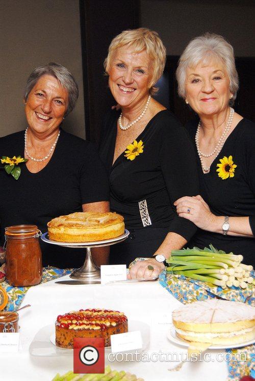 The Calendar Girls launch their 2008 Recipe Calendar...