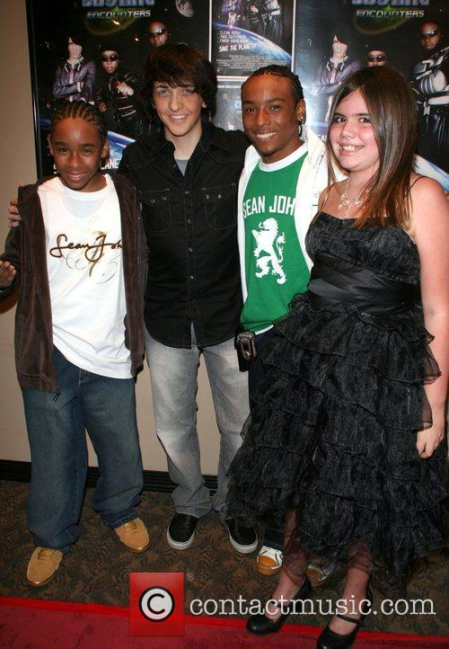 Oren Williams, Zachary Isaiah Williams With Cast and Producers 3
