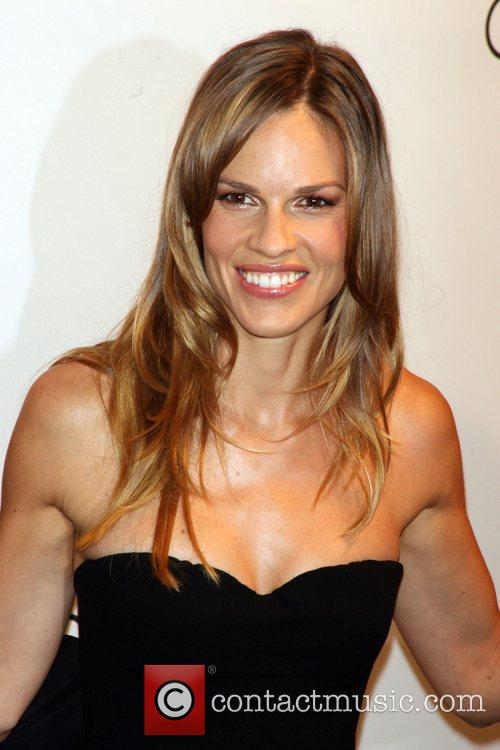 Hilary Swank and Calvin Klein 8