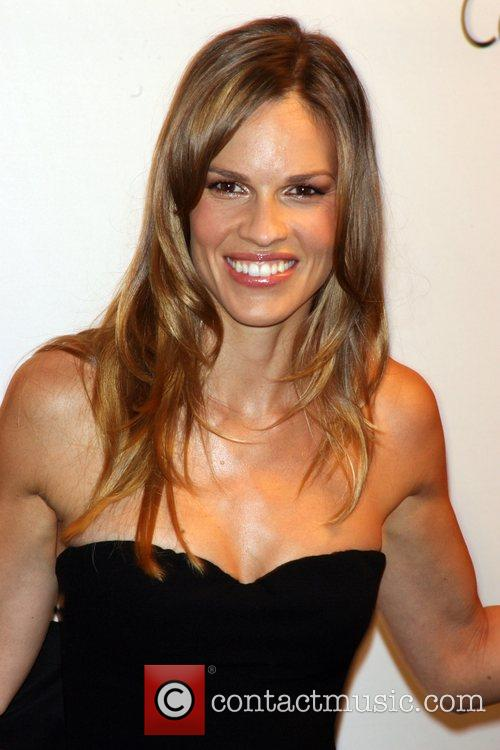 Hilary Swank and Calvin Klein 7