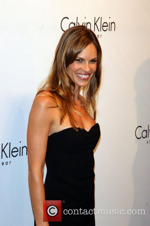 Hilary Swank and Calvin Klein 10