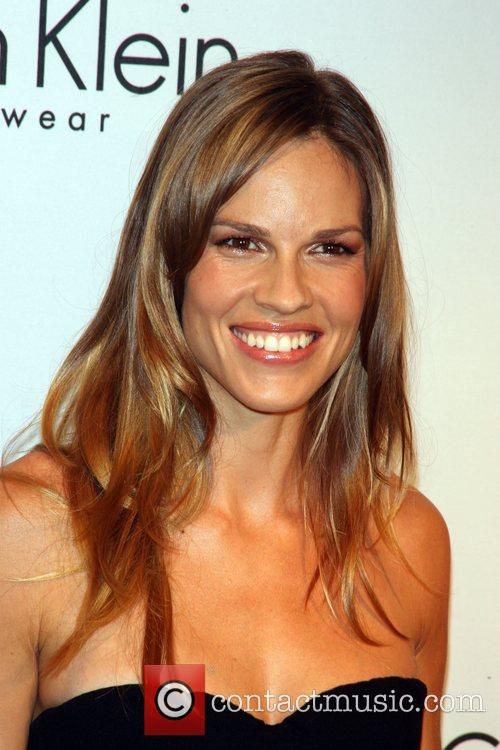 Hilary Swank and Calvin Klein 5