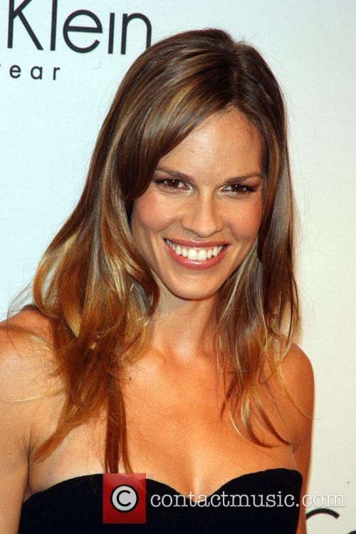 Hilary Swank and Calvin Klein 9
