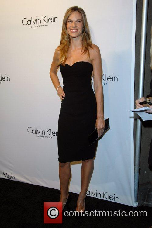 Hilary Swank and Calvin Klein 1