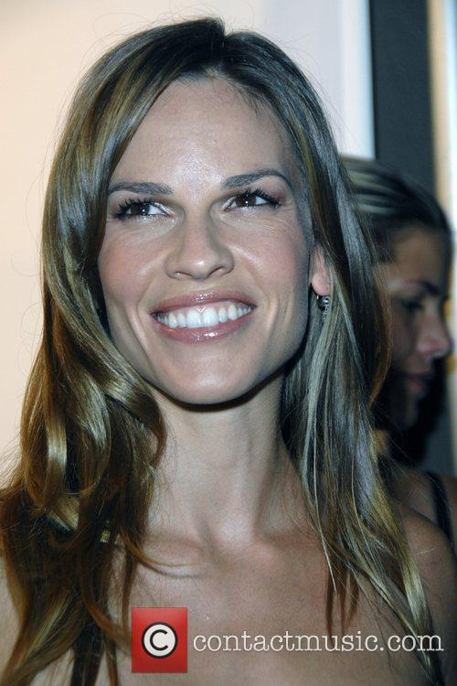 Hilary Swank and Calvin Klein 2