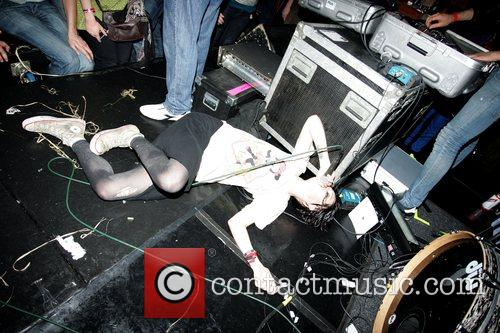 Crystal Castles perform at the Camden Crawl -...