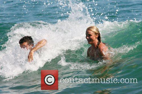 Cameron Diaz has a blast playing in the...
