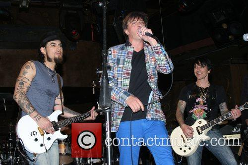 Dave Navarro, Donovan Leitch and Billy Morrison Camp...