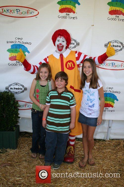 Ronald McDonald, Billi Burno, Conner Rayburn and Taylor...
