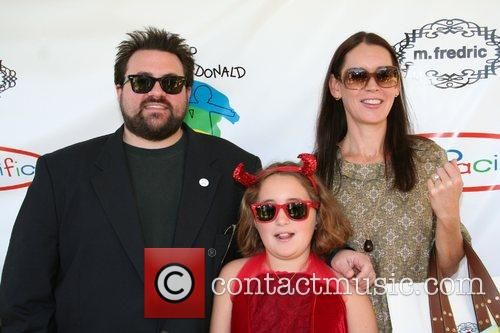 Kevin Smith, Jennifer Smith and daughter Arley The...