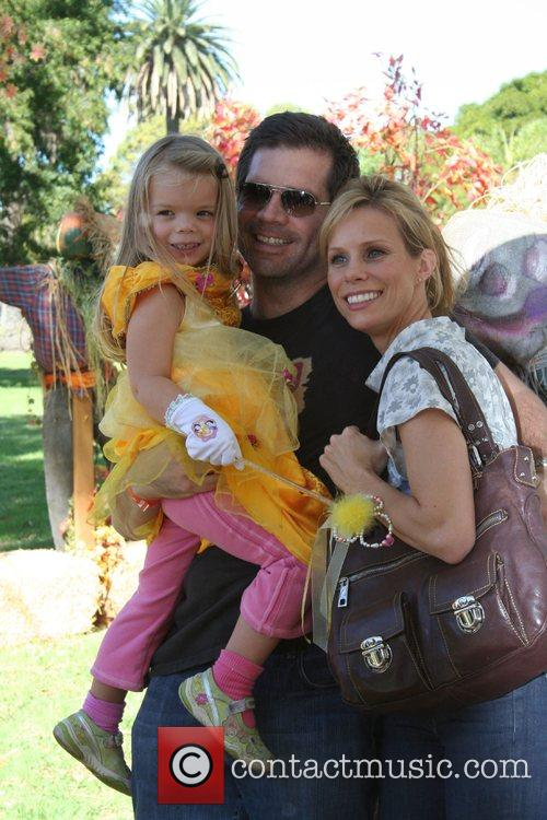 Paul Young, Cheryl Hines, and daughter Catherine The...