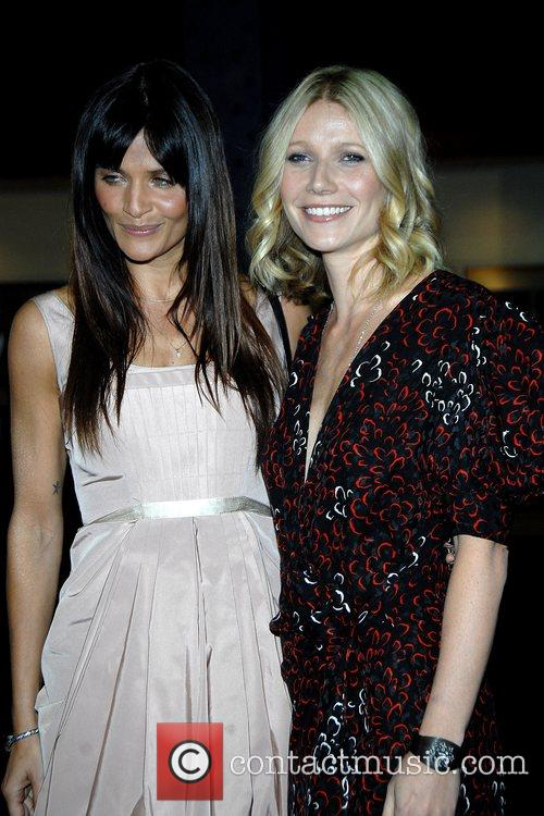 Helena Christensen and Gwyneth Paltrow 8