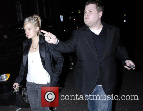 Lily Allen and Guest leaving the Noel Fielding...