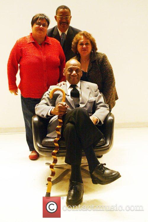 Candido Camero with his wife and the Smithsonian...