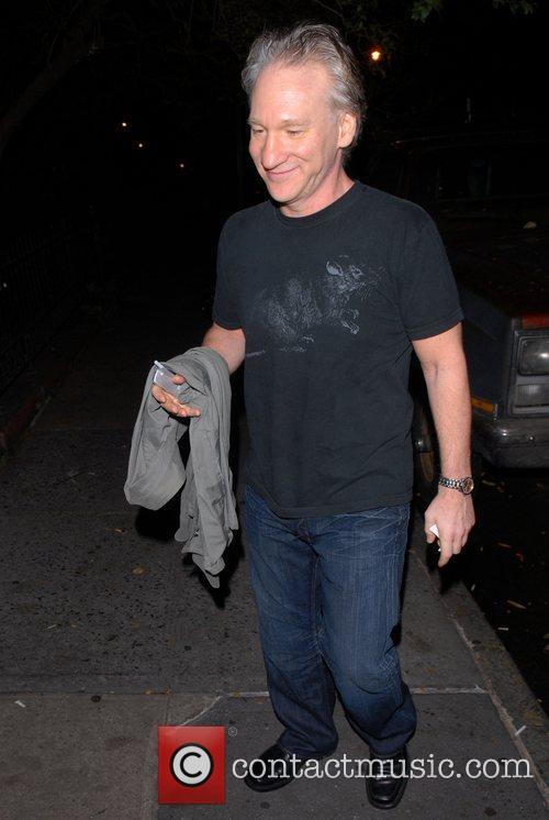 Bill Maher celebrities enjoying an evening out in...