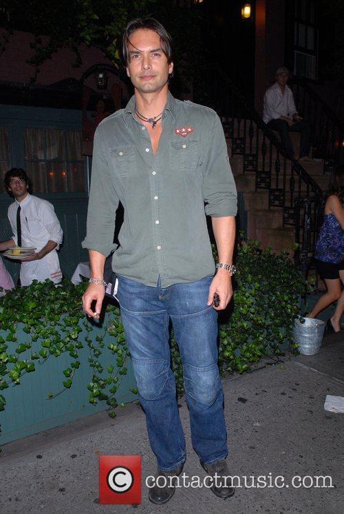 Markus Scheckenberg celebrities enjoying an evening out in...