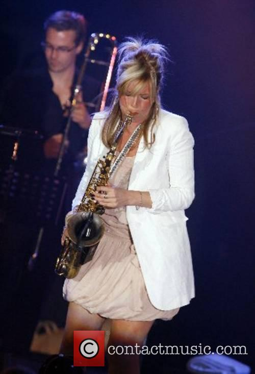 Candy Dulfer performing at the 2nd edition of...