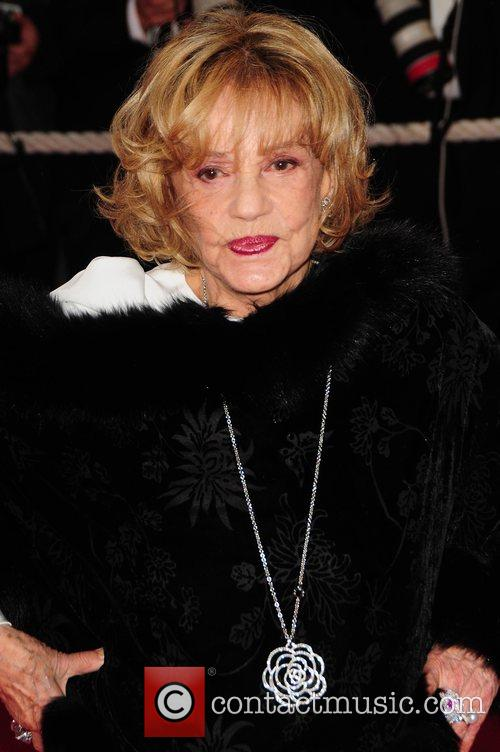 Jeanne Moreau at Cannes Film Festival in 2008